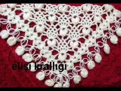 Crochet Lace Edging, Crochet Flower Patterns, Lace Patterns, Crochet Shawl, Crochet Designs, Crochet Flowers, Knitting Patterns, Knit Crochet, Crochet Baby Blanket Beginner
