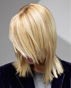 long blonde straight coloured PLATINUM-BLONDE hairstyles for women
