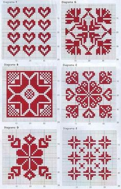 Thrilling Designing Your Own Cross Stitch Embroidery Patterns Ideas. Exhilarating Designing Your Own Cross Stitch Embroidery Patterns Ideas. Knitting Charts, Knitting Stitches, Knitting Needles, Fair Isle Knitting Patterns, Fair Isle Pattern, Knitting Designs, Cross Stitch Designs, Cross Stitch Patterns, Cross Stitching