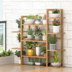 Outdoor Pots, Outdoor Flowers, Indoor Outdoor, Outdoor Shelves, Plant Shelves, Wood Shelves, Shelving, Small Shelves, Slatted Shelves