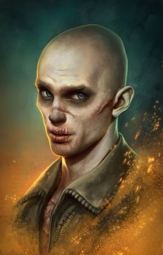 "trustiniron:  Nux by AlisZombie Favorite character from ""Mad Max Fury Road"", of course Imperator Furiosa stole my heart too. This artist has an awesome gallery.""I live, I die! I live again!"""