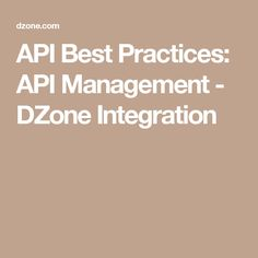 The 17 best api management images on pinterest management apis are really prevalent heres a guide to best practices including design authentication and throttling tips malvernweather Image collections