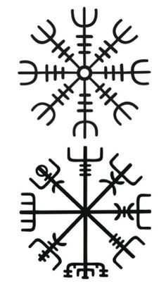 Vegvisir the magic compass of vikings Helm Of Awe Tattoo, Norse Tattoo, Viking Tattoos, Viking Compass Tattoo, Trendy Tattoos, New Tattoos, Body Art Tattoos, Tattoos For Guys, Tatoos