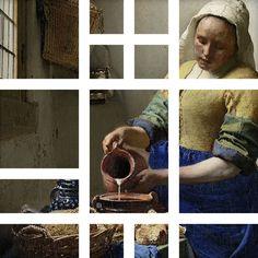 Bekende Nederlandse schilderijen uit het Rijksmuseum in een Ogu