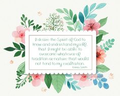 Perspective: May 2016 Visiting Teaching Printable Handouts Watercolor Flowers, Watercolor Paintings, Watercolour, Style Floral, Fotos Do Instagram, Vector Flowers, Leaf Flowers, Free Prints, Flower Frame