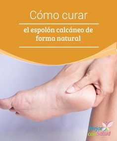 """Cómo curar el #Espolón calcáneo de forma natural - """"  Esa protuberancia en el hueso que aparece cuando el #Tendón se satura de tanta presión se conoce como espolón calcáneo. Puede ocasionar mucho dolor  #RemediosNaturales Health And Beauty, Health And Wellness, Health Fitness, Healthy Tips, How To Stay Healthy, Home Remedies, Natural Remedies, Food Journal, Household Tips"