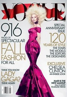 American Vogue - American Vogue September 2012 Cover