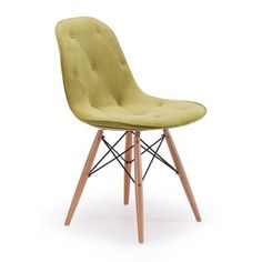 Probability Modern Green Velour Chair | Overstock™ Shopping - Great Deals on Dining Chairs