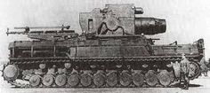 """Self-propelled mortar """"Karl"""" (it. Gerät — German heavy self-propelled mortar during the Second world war. One of the most powerful tank destroyer. Railway Gun, Tank Destroyer, Fire Powers, World Of Tanks, Big Guns, Military Equipment, Panzer, Aircraft Carrier, Armored Vehicles"""