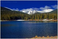 Echo Lake, Colorado Idaho Springs. Not a hike, right off the road. Scenic drive and awesome views