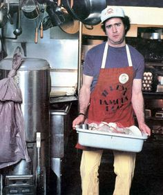 Andy Kaufman in 1981. Jerry's famous deli Los Angeles