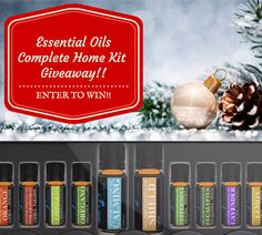 Free Essential Oils Complete Home Kit Giveaway! ($131 value)