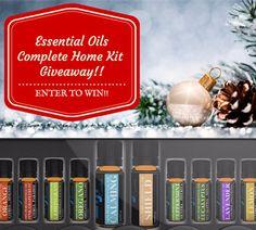 Free Essential Oils Complete Home Kit Giveaway! ($131 value) via @eijiessentials {Follow Eiji Essentials on Twitter}  http://virl.io/ziEFpRnf