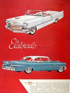 Cadillac Eldorado Biarritz and Seville, 1956