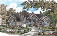 ePlans European House Plan –2929 Square Feet and 4 Bedrooms from ePlans – House Plan Code HWEPL75911