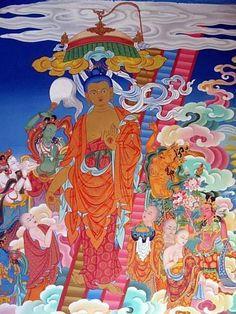 Lha Bab Düchen, the 'Festival of the Descent from Heaven'