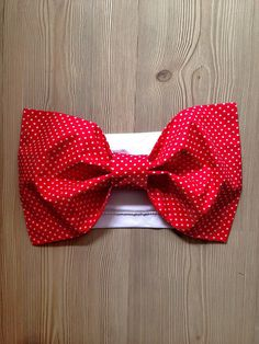 Red Bow Bandeau Bikini Women Bow Top Bow Bandeau by SWANTREE