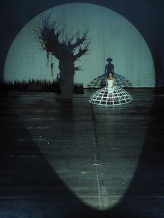John Cage: Europeras 1 & 2 Ruhrtriennale 2012, set design and lighting - Klaus Grünberg                                                                                                                                                                                 More
