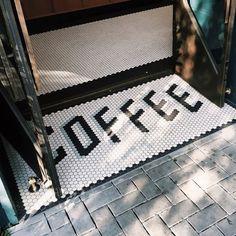 Coffee entrance