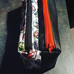Nad sur Instagram: Et une petite trousse pour mon fils. #marvel #avengers #troussezipzip #couture #sacotin #troussedecole