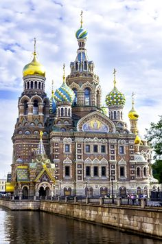 Church Of The Spilled Blood, St. Petersburg, Russia.