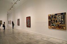 """Exposición """"Fuego Blanco"""", la Colección moderna del Kunstmuseum Basel en el Museo Reina Sofía de Madrid. #Arte #Art #Arterecord 2015 https://twitter.com/arterecord"""
