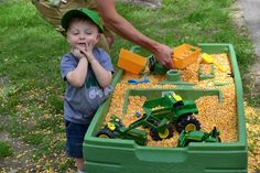 Tractor Party Johnny Tractor Two Years Birthday31