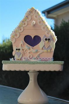 bird house cake | Flickr - Photo Sharing!