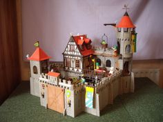 3666 Castle - step-by-step assembly in pictures
