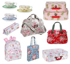 Old School Cool: Cath Kidston's Pretty Things.