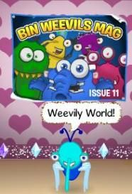 Click the link below to discover the code for the Bin Weevils official magazine issue #11 fan poster.
