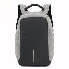 768c8c1621 Multi Functional USB Charging 14 inch Laptop Anti Theft School Backpack  Travel Luggage