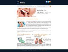 Proyecto para Clínica Dental - Nuestro Blog #diseñoweb #paginasweb #DiseñadorWebValencia #DiseñadorWeb