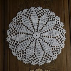 Handmade Crocheted Doilies White 9 22 CM Wedding Mat Pad Decorative Set of 10 Diy Crochet Patterns, Crochet Diy, Doily Patterns, Baby Knitting Patterns, Crochet Doilies, Bead Crafts, Diy And Crafts, Crochet Snowflakes, Pad
