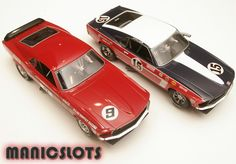 Slot car, Scalextric, Boss Mustang