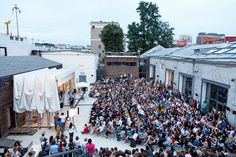 STRELKA INSTITUTE SUMMER TERRACE, MOSCOW