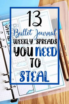 This list has some amazing beginner friendly weekly bullet journal spreads that you can use in your very own Bullet Journal! Click to read more. February Bullet Journal, Bullet Journal Monthly Spread, Bullet Journal How To Start A, Bullet Journal Inspiration, Bullet Journal Ideas Pages, Bullet Journal Weekly Spread Layout, Bullet Journal Headers, Bullet Journal Notes, Journal Pages