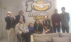En las sedes de MercadoLibre, uno de los big players en latinoamérica. Todo un honor !!!