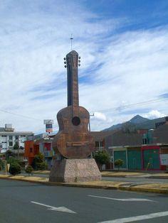 Paracho, Michoacán...they have beautiful guitars!!