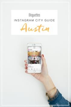 Whenever we travel to a new city we like to check out the cutest coffee spots, restaurants and shops that would make great Instagram posts! So... we got together with two Austin creatives and they helped us put together an Austin edition Instagram City Guide just for you!