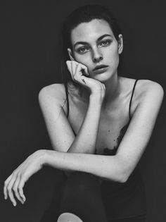 Cute & beauty girls - Vittoria Ceretti by Emma Tempest for Models.com