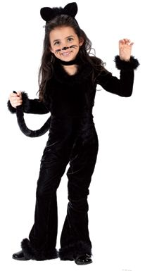 diy with black velour hoodie track suit and boots add ears tail and simple face toddler cat costumetoddler halloween - Cat Outfit For Halloween