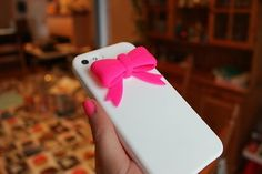 bow iphone case. ♡