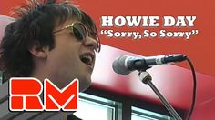 """Howie Day - Sorry So Sorry """"And you really didn't know""""...  This song brings me to heaven #greatsongs"""