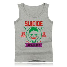 Harley Quinn Joker tank top short sleeveless tank     Tag a friend who would love this!     FREE Shipping Worldwide     Buy one here---> http://www.worldofharley.com/4xl-2017-men-women-harley-quinn-tank-top-short-sleeveless-joker-tank-bodybuilding-tank-fitness-clothes-suicide-squad-tank/