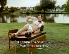 Monty Python and the Flying Circus, John Cleese it a comedy god!
