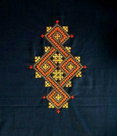 Kashida Embroidery, Kasuti Embroidery, Hand Embroidery Dress, Basic Embroidery Stitches, Embroidery Works, Folk Embroidery, Hand Embroidery Designs, Beaded Embroidery, Cross Stitch Embroidery
