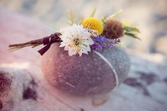 Vintage, retro, whimsical and naturally wild buttonhole and boutonnière Ideas.    Photos by, http://lucyshergold.photoshelter.com/, Floral styling by www.jennyroseflowers.co.uk.