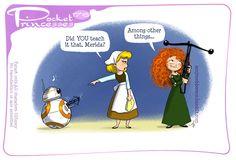 Pocket Princesses 176: House training Please reblog, do not repost, edit or…