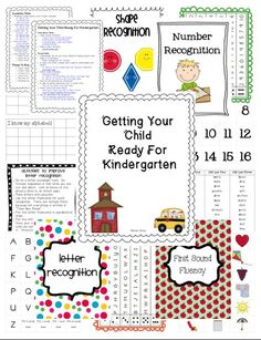 math worksheet : worksheets and printables for kindergarten students or those  : Getting Ready For Kindergarten Worksheets